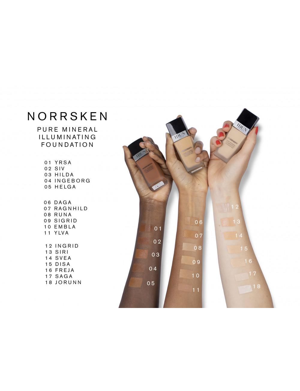 IDUN Minerals glos za ustnice Charlotte